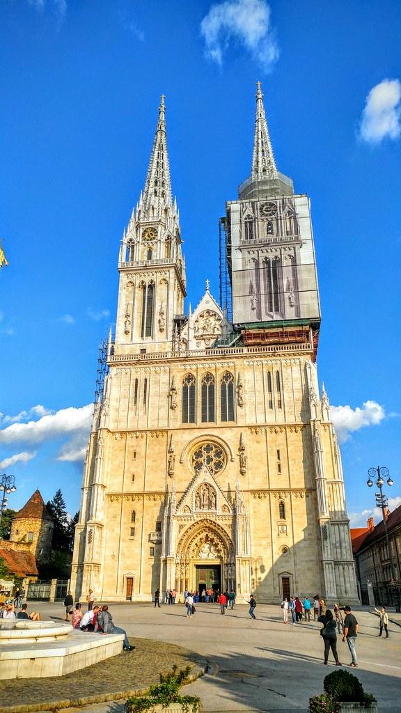 Cathedral Of Zagreb Zagrebačka Katedrala The Tallest