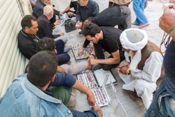 Een ander vertrouwd gezicht in Iran zijn de juwelenverkopers op straat.