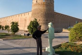 Het is gebouwd in de 18de eeuw, tijdens de Zand-dynastie.