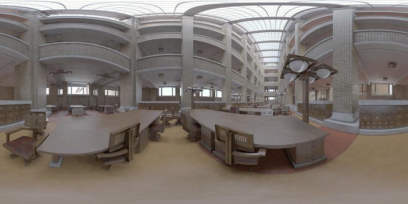 Larkin Administration Building by Frank Lloyd Wright