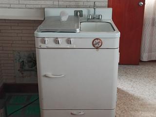 general l k stove fridge sink combo