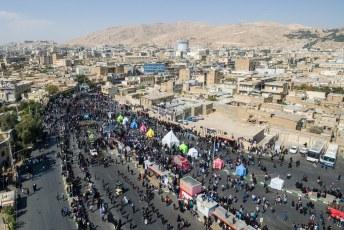 Het rouw festival ivm met Muharram/Asjoera kwam tot een hoogtepunt.