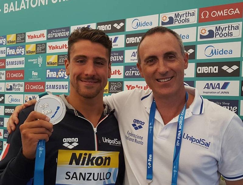 Mondiali Budapest 2017, il fondo apre con l'argento di Sanzullo nella 5 km