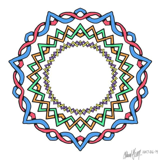 Celtic Knot Mandala 2 - crop
