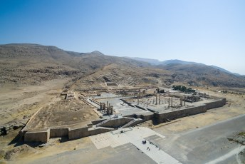 Daarna was het tijd voor de hoofdattractie: Persepolis (stad van de Perzen).