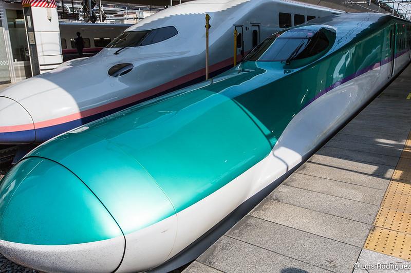 Shinkansen de la serie H5 del Hokkaido Shinkansen