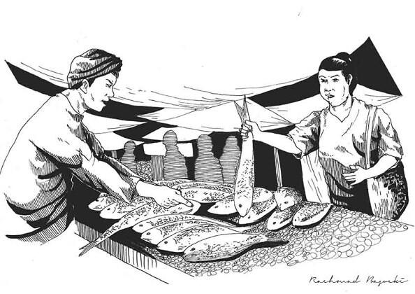 Ilustrasi-Pasar-Bandeng