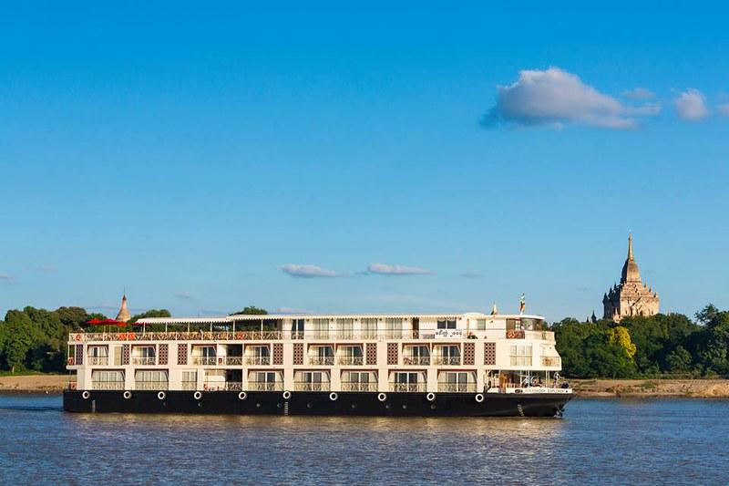 Irrawaddy River Cruise Boat, Myanmar