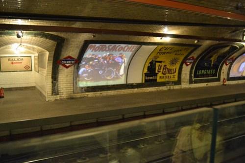 Andén 0: Estación de Chamberí