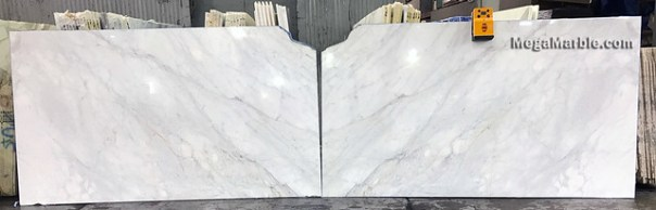 Calacata Caldia Bookmatched 3cm Natural Stone Marble Slabs For Countertops & Wall