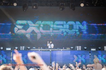 Excision @ Fvded in The Park - July 4th 2015