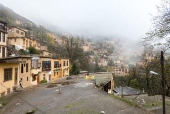 De voorlaatste stop voor de grens met Azerbeidzjan was het dorpje Masuleh.