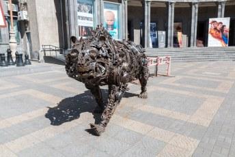 Daar staat ook deze russische beer.