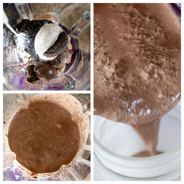 Oreo Chocolate Cupcake Shakes - 11