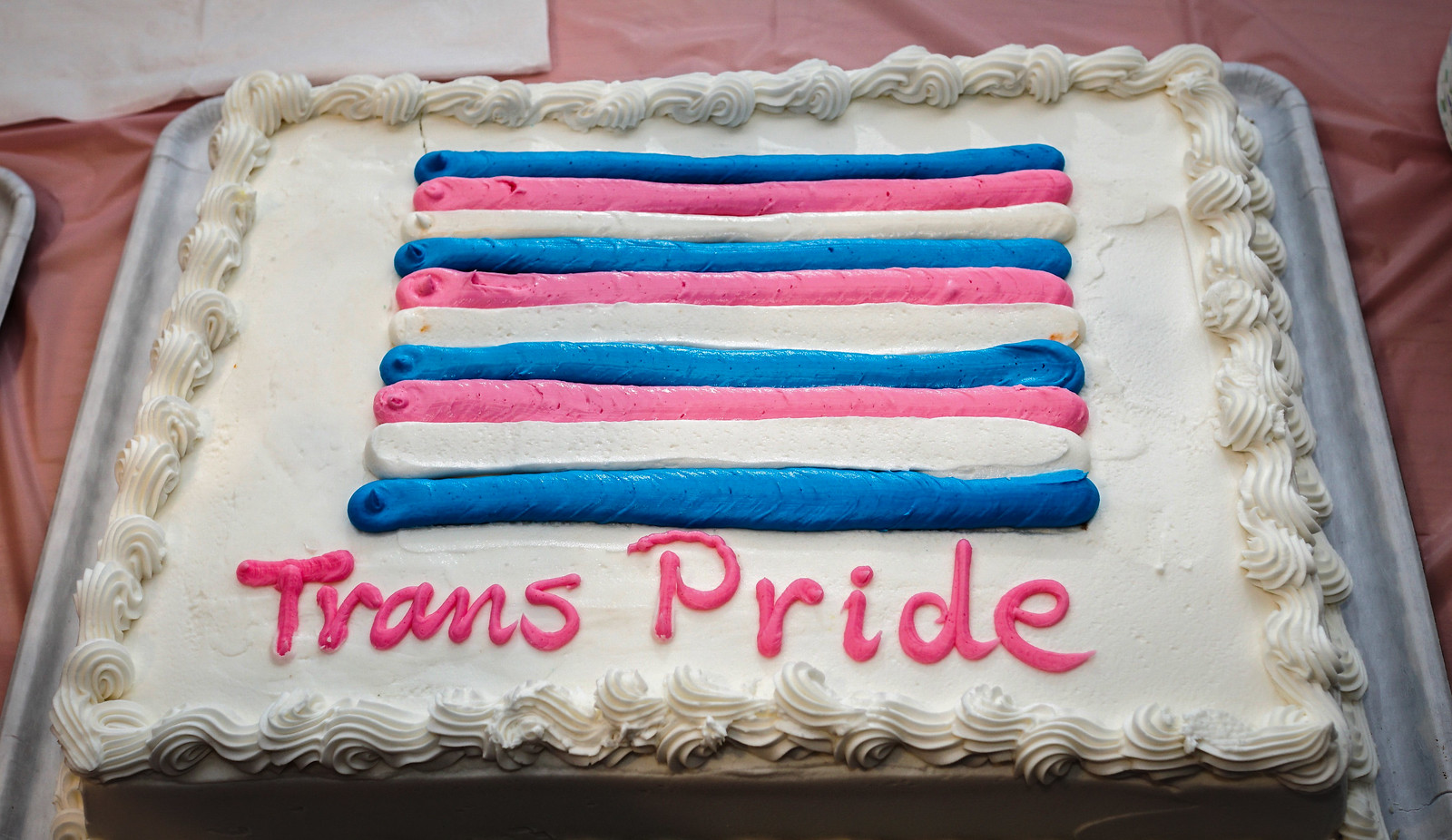 Thanks for publishing my Transgender Person Pride cake photo, New York Times