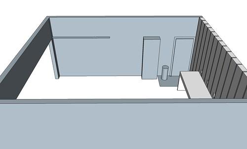 Garage_3D_Northern wall