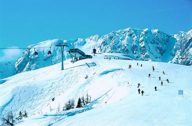 Austria, Nassfeld, ski area