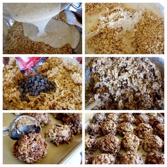 Salted Chocolate Sesame Rice Crispy Treats - 28