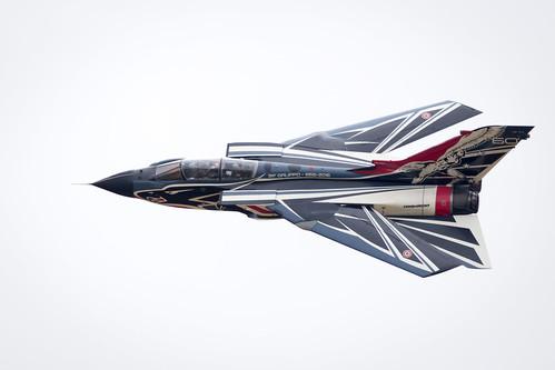 Panavia Tornado of the Italian Air Force Displays at Fairford International Air Tattoo 2017