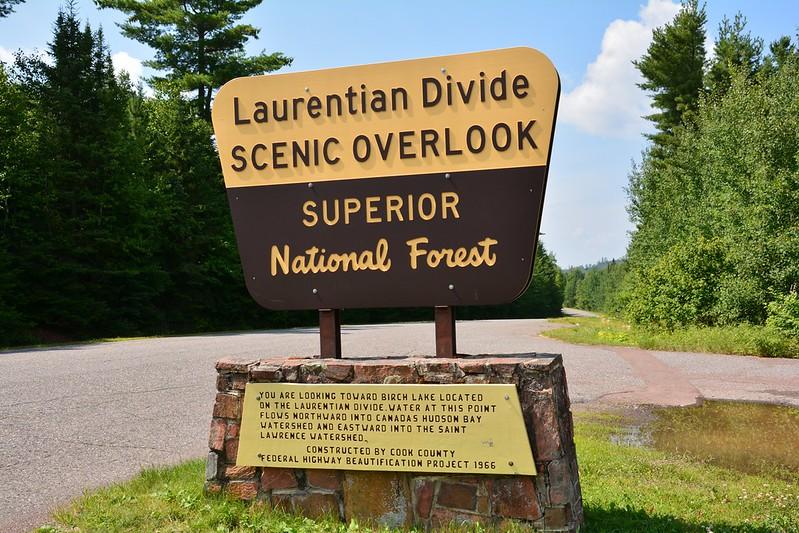 Laurentian Divide Scenic Overlook