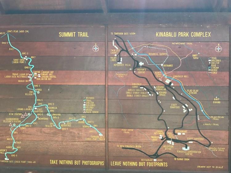 Kinabulu Park Map