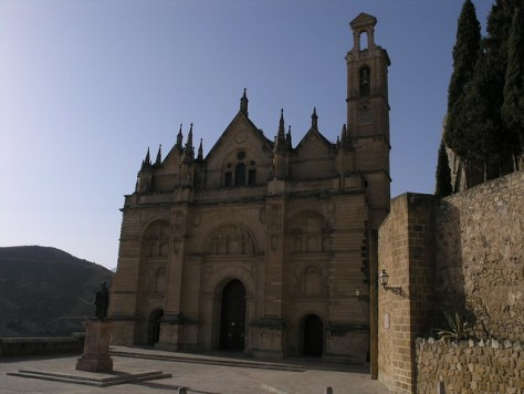 Antequera cathedral by day