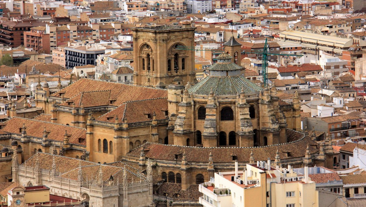 Alhambra is in Granada