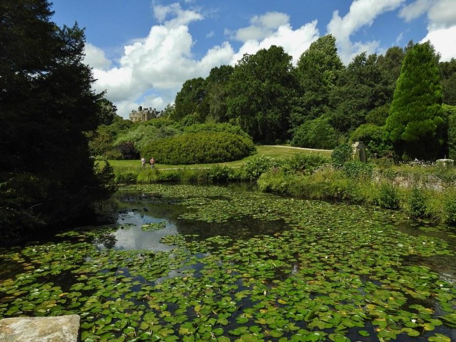 The Gardens of Scotney Castle near Lamberhurst, Kent, UK - August 2017