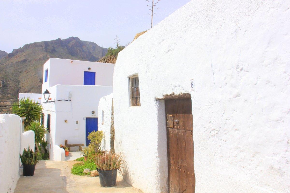 The whitewashed walls of Nijar.