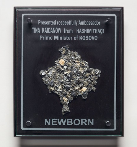 Plaque from Kosovo