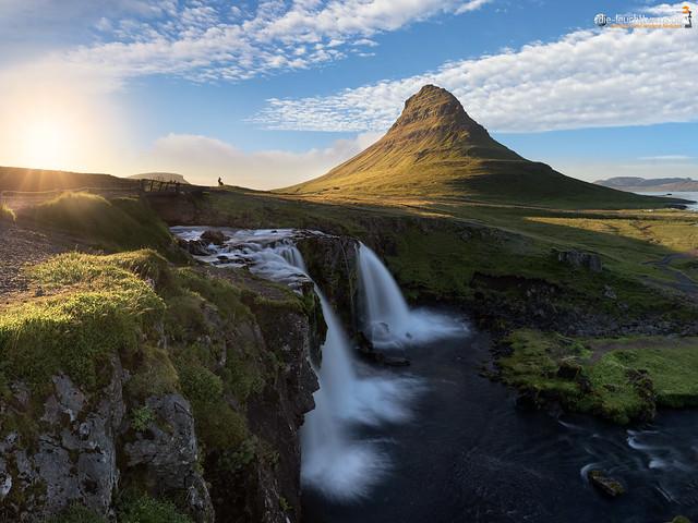 Kirkjufoss and Kirkjufell