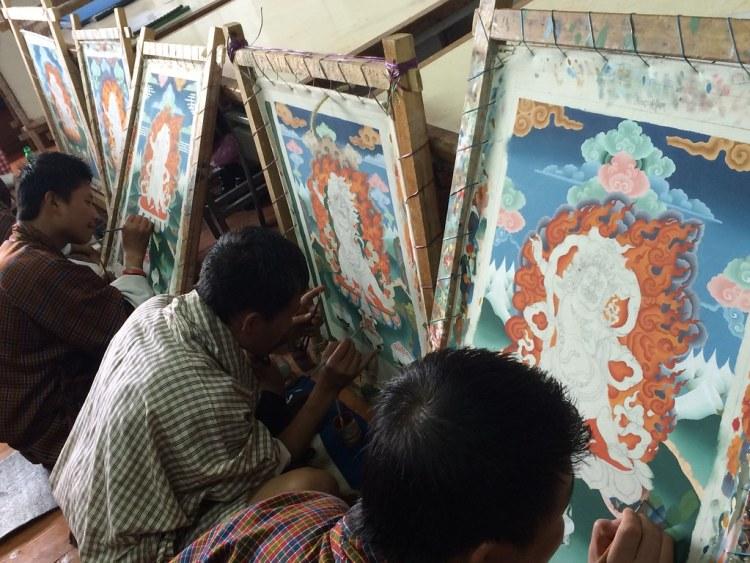 Bhutan Painting (Small)
