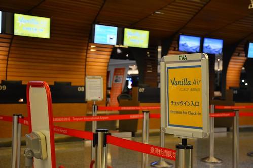 桃園機場第一航廈:香草航空報到櫃臺 | Cheng-en Cheng | Flickr