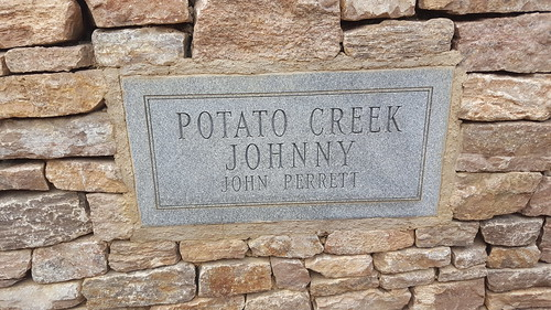 I learned about Potato Creek Johnny this weekend.