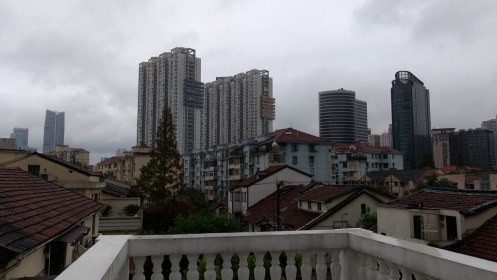View from hostel roof