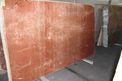 Rojo Alicante marble slabs for countertops