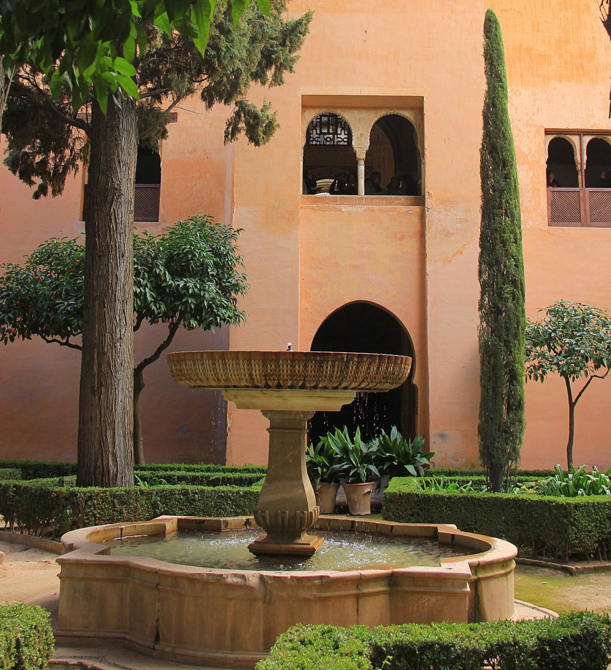 Generalife is an attraction inside the Alhambra