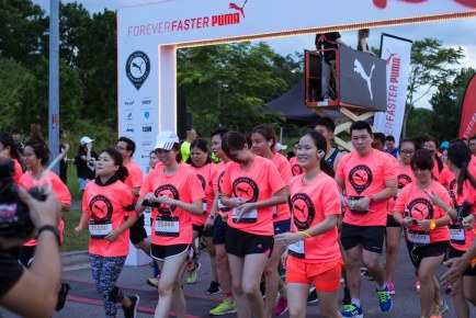 PUMA Night Run 2017 Singapore