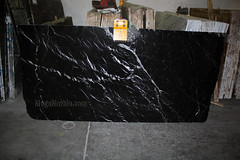 Nero Marquina 2cm marble slabs for countertops