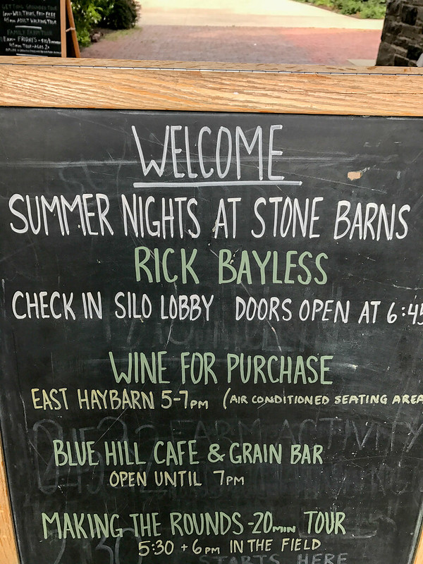 Rick Bayless at Blue Hill