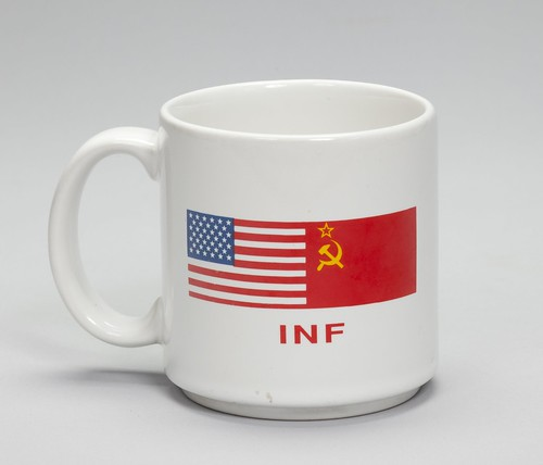 Intermediate-Range Nuclear Forces (INF) Treaty Ceramic Mug
