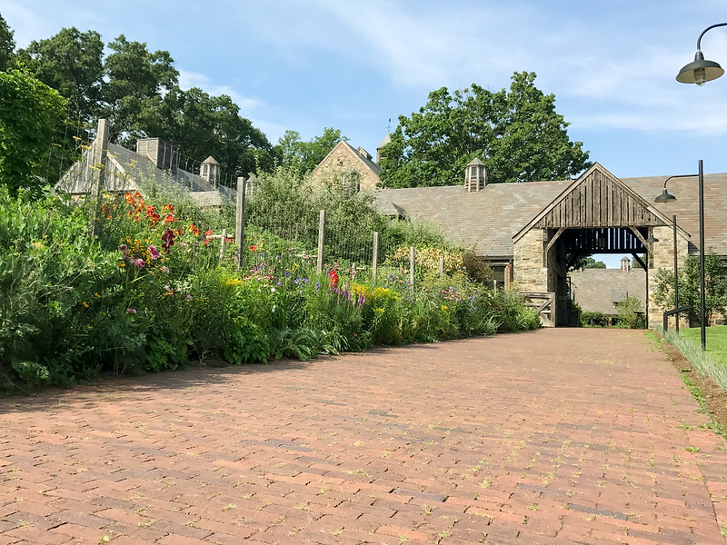 Entrance to Blue Hill at Stone Barns