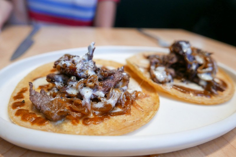 TACO Spit-Roasted Beef with Onions ($18)