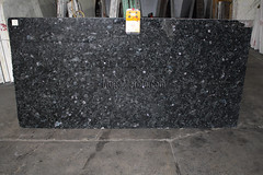 Volga Blue Granite slabs for countertop A