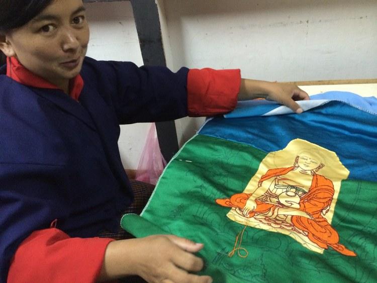 Bhutan Embroidery