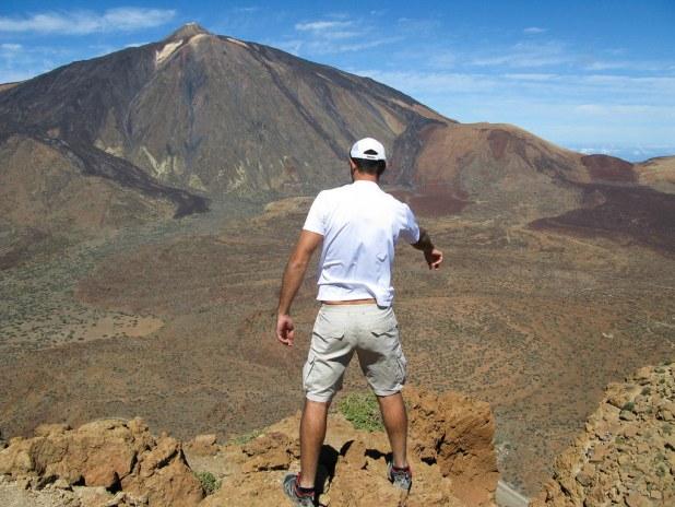 Vista de El Teide desde Guajara
