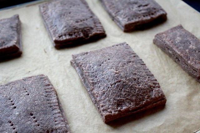 Chocolate PB&J Pop Tarts - 16
