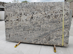 White Persia Granite slabs for countertop