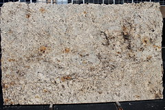Mamibian Gold Light Granite slabs for countertop