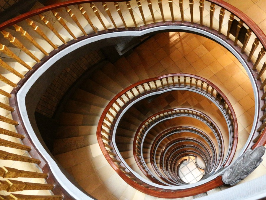 Hamburgs mooiste trappenhuizen: Kontorhausviertel Meßberghof| foto Rita